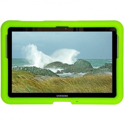 the latest 420e0 59a91 Kid proof rugged case for Samsung Galaxy Tab 2 10.1 Made of thick ...