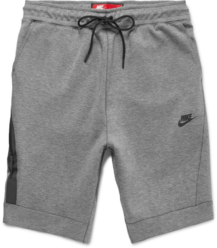 Nike Cotton Blend Tech Fleece Shorts Men S Basketball Shorts Running Shorts Active Wear Sportswear Gym Wear M Street Styles Fur Herren Manner Outfit Tuch