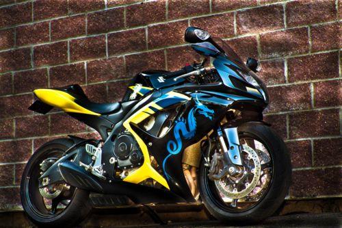 Suzuki GSX-R750 (Custom Paint) | Motorcycle/Car related