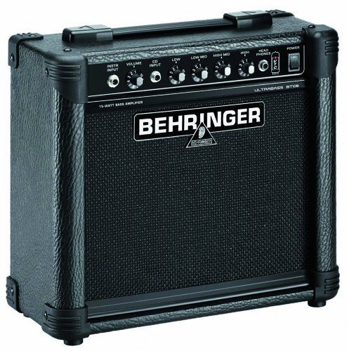 behringer bt108 ultra compact 15 watt bass amplifier by behringer. Black Bedroom Furniture Sets. Home Design Ideas