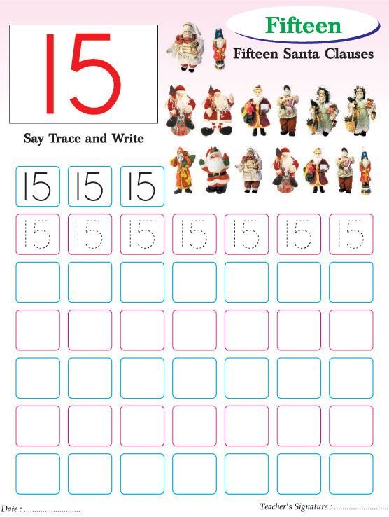 Numbers writing practice worksheet15 – Number Writing Practice Worksheets