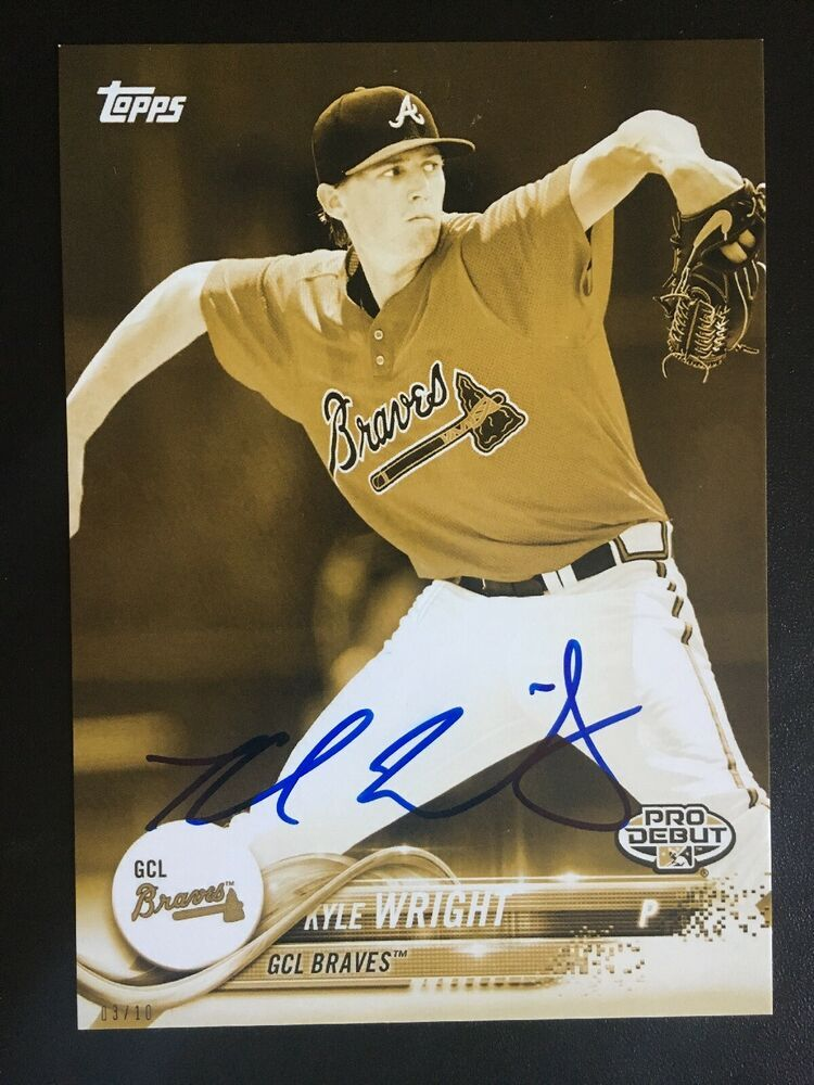 online store 803da 2b112 Details about KYLE WRIGHT SIGNED 5x7 RARE 03/10 AUTO ROOKIE ...