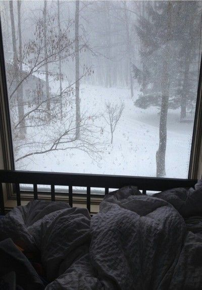 Pin By Victoria On In Bed Winter Cozy Window View Winter Scenes