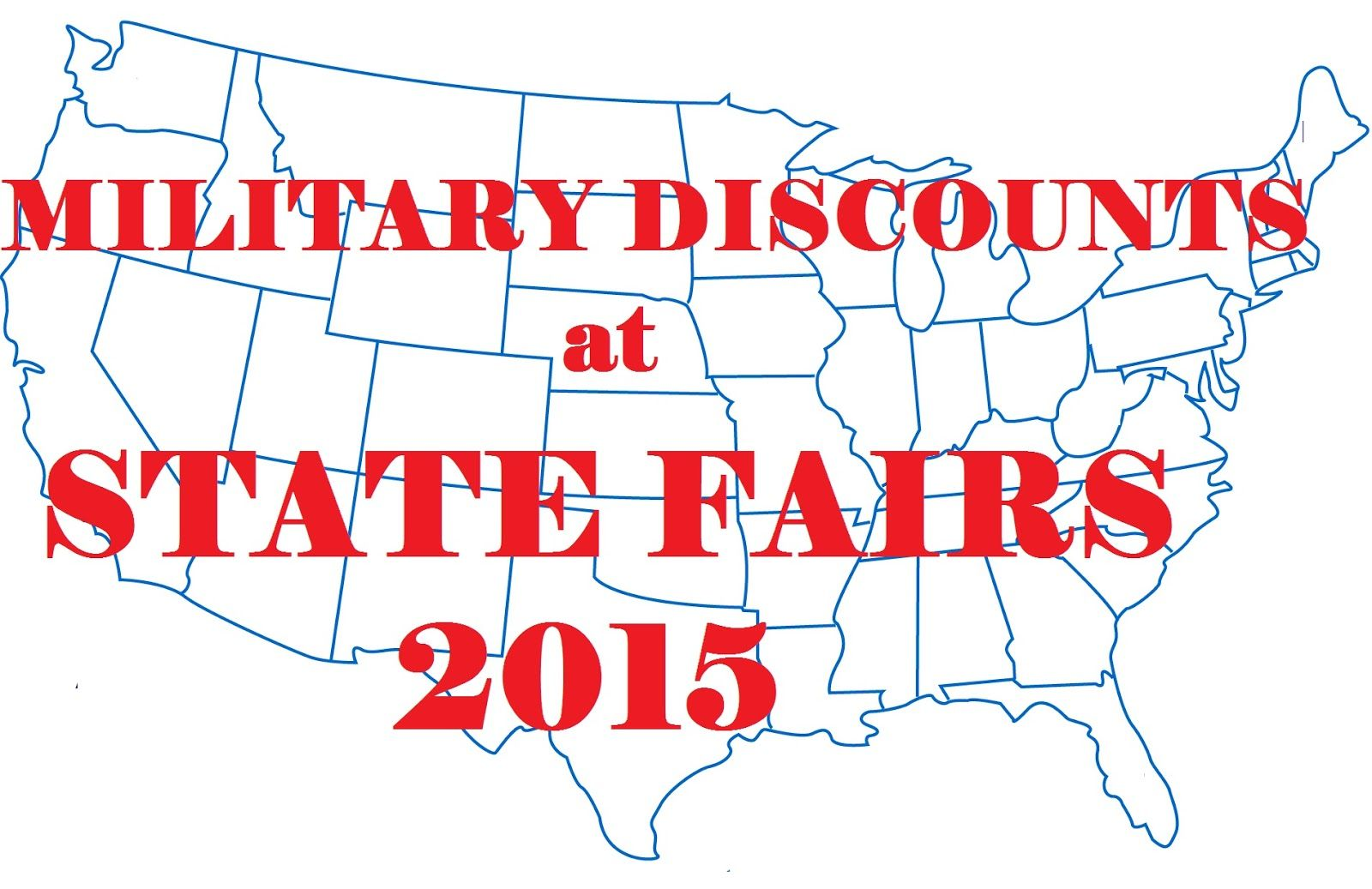 Military Discounts and Deals State fair, Military