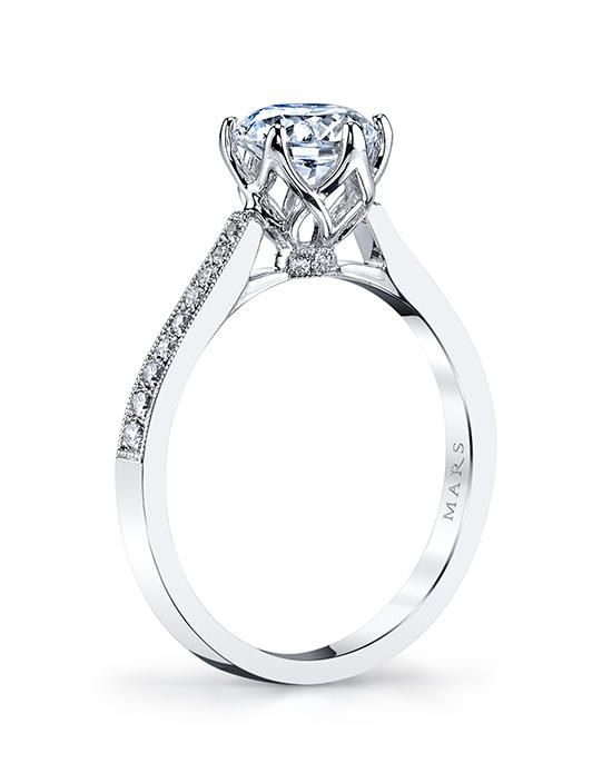 Round Cut Diamond Solitaire Ring Woman/'s Solitaire Engagement Ring Wedding Ring Six Prong Set Daily Wear Delicate Ring Classic Ring