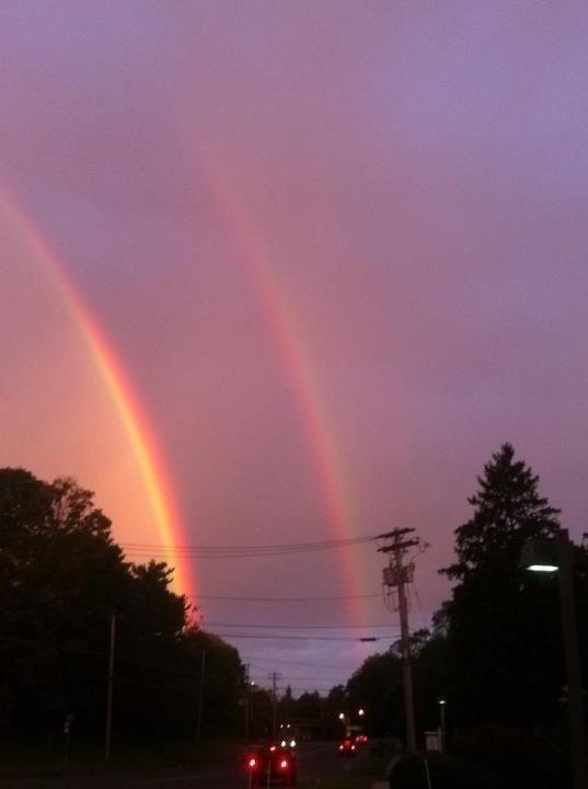 Double Rainbow U Gaiz 8d By Kiss The Iconist On Deviantart Sky