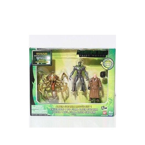 Ben-10 Alien Swarm Alien Queen, Nanomech, Validus Action Figure Mult-Pack   ToyZoo.com