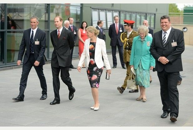 Earl and Countess of Wessex visit Somerset including Thatchers Cider | Western Daily Press 9 June 2014