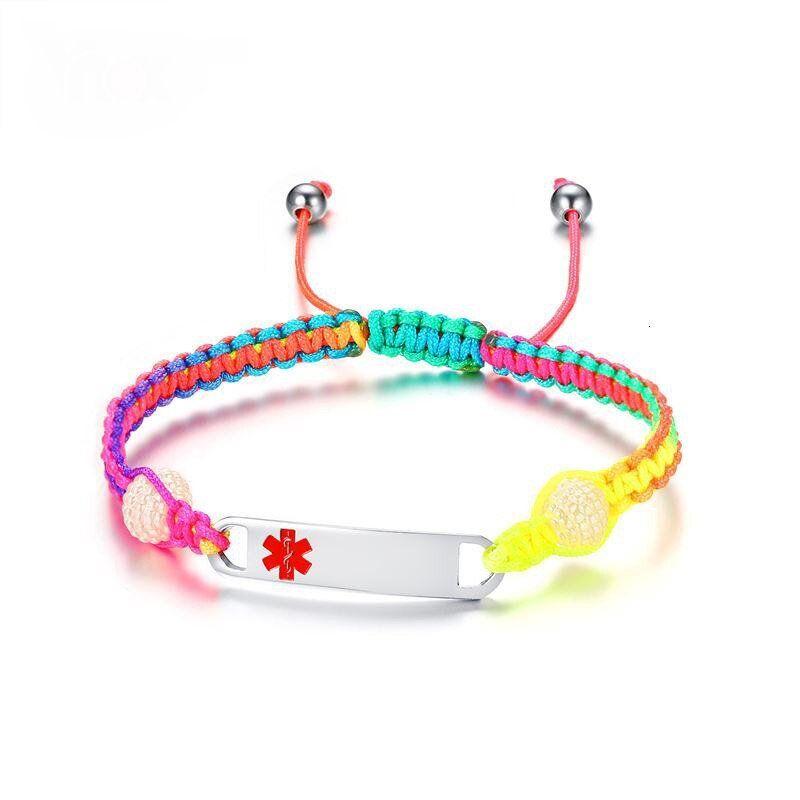 Bling Jewelry Engravable Doctors Medical Alert ID Identification Bracelet Cross Link Band for Men for Teen Silver Tone Stainless Steel