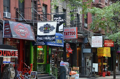Greenwich Village streetscape