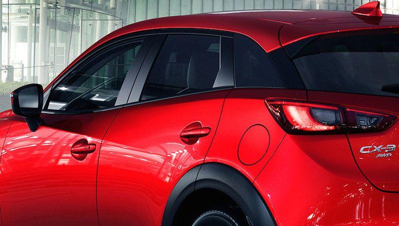 Mazda Cx 3 Suv Im Test Kompakte Abmessungen Auf Wunsch Mit 4 Radantrieb Sportliche Fahrleistungen Und Jeder Menge Fahrassistenten S Mazda Auto Suv Kleine Suv