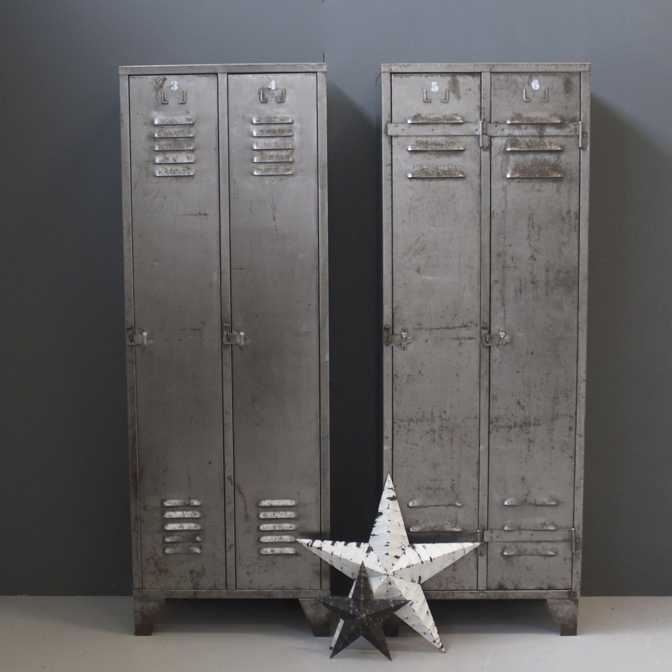 vintage metal lockers - Metal Lockers