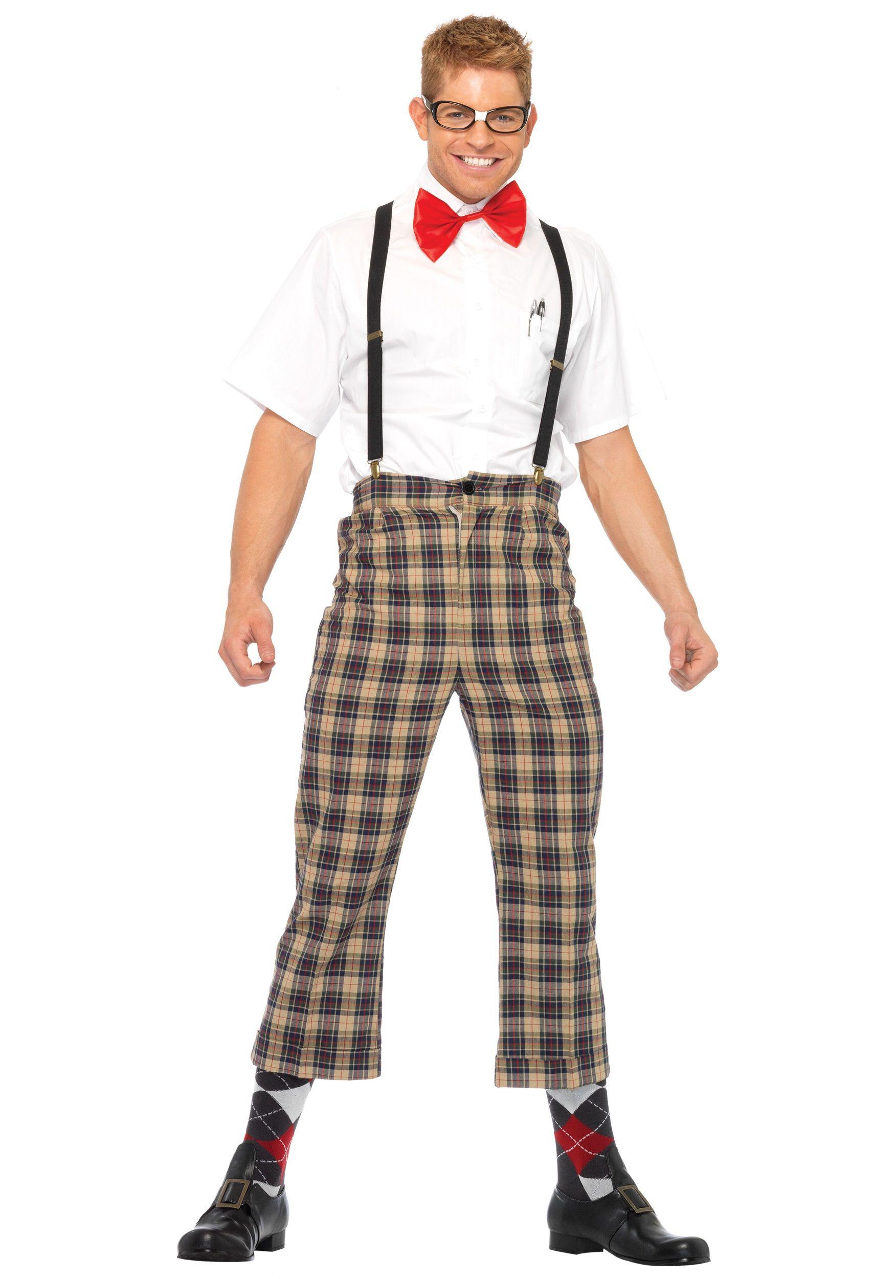 funny male halloween costume ideas Nerd Outfits Nerd