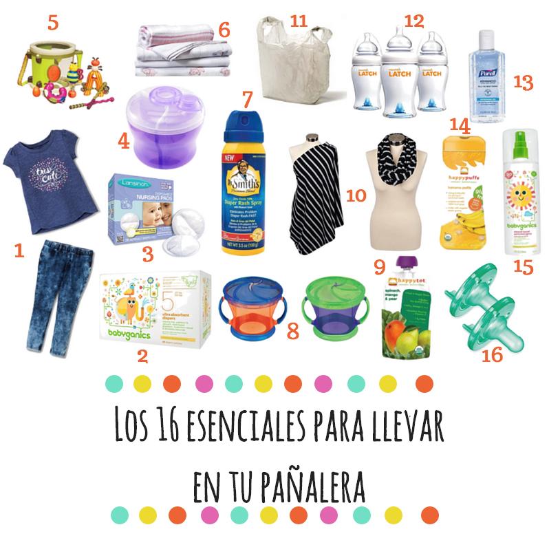 9da31d76b4019a 16 esenciales para llevar en tu pañalera | Blog de BabyCenter @target  #maternidad #productos #bebe