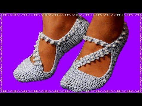Çeyizlik Patik Sandalet Modeli Yapılışı Videolu Anlatımlı