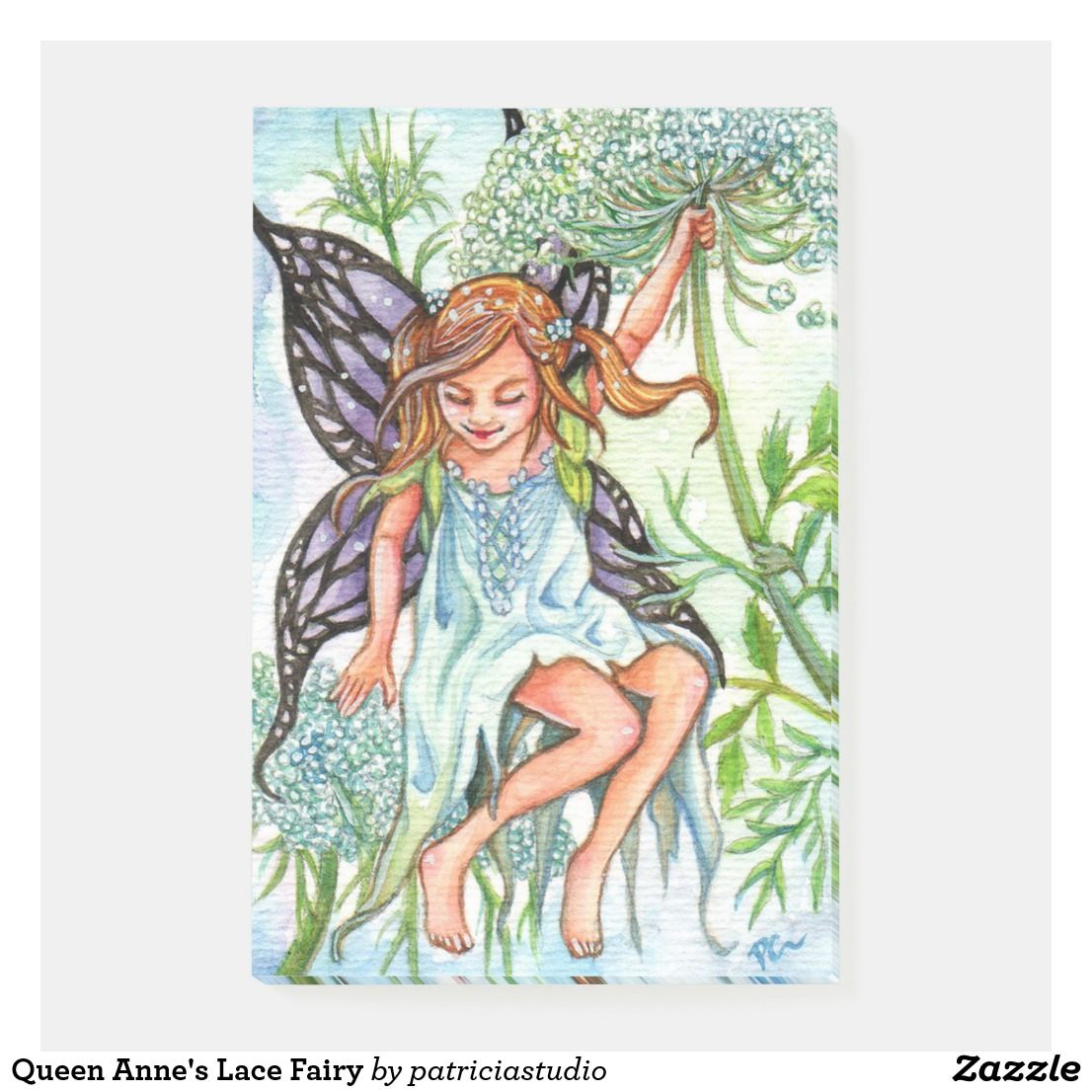 Don/'t Wake Me Up  fantasy fairy art from original painting by Patricia Chu 2.5 x 3.5 inches ACEO limited edition art print
