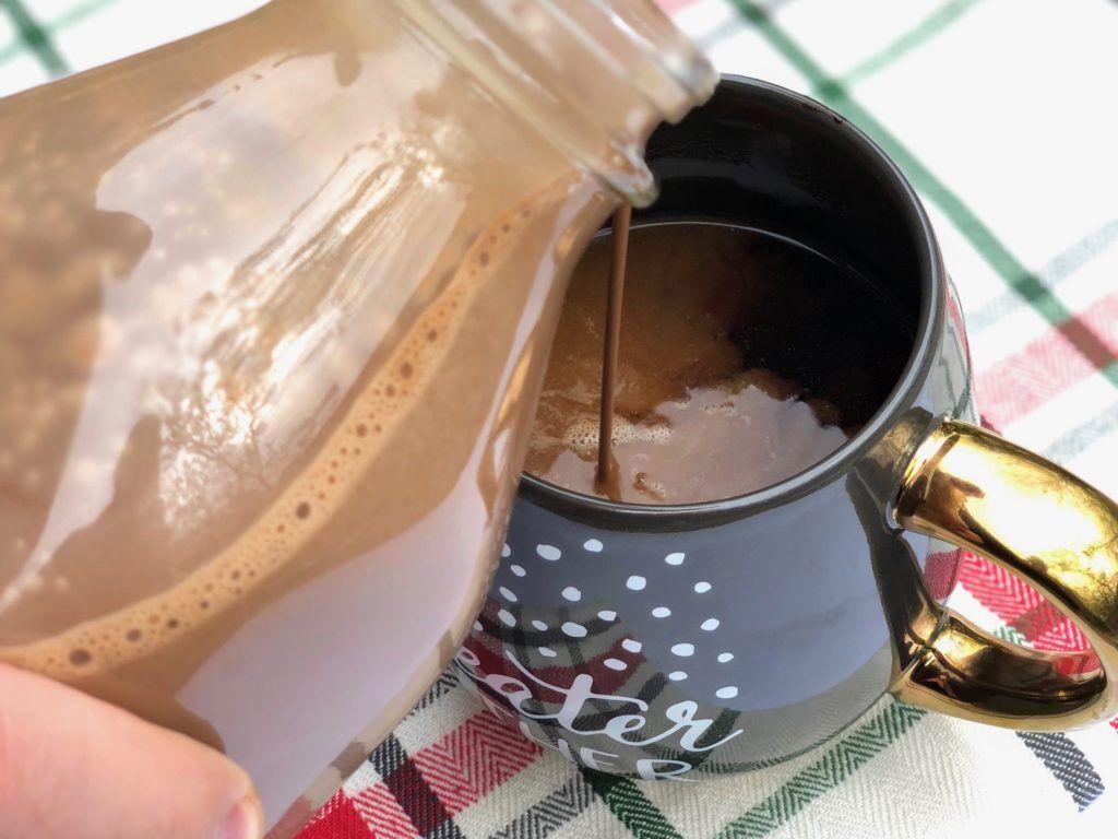 Peppermint Mocha Bulletproof Coffee Creamer Recipe