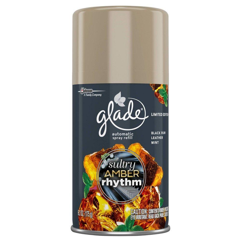 Glade Sultry Amber Rhythm Automatic Spray Refill 6 2oz Air
