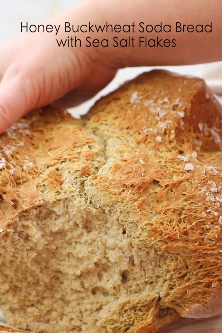 Honey Buckwheat Soda Bread with Sea Salt # ...