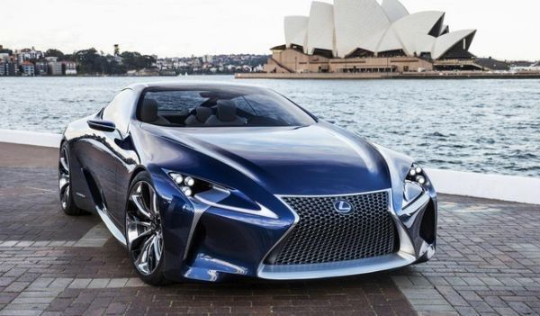 2017 Lexus Lc 500 High Performance Exotic Cars Sport