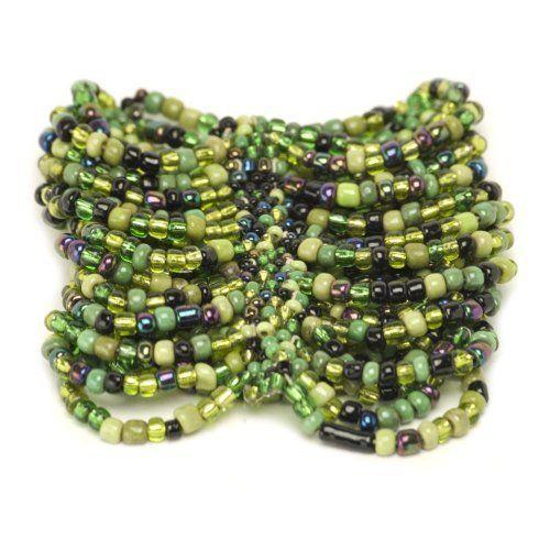 Women seed jewelry purple bead black green bracelet fit by 81stgeneration 81stgeneration. $1.95. .