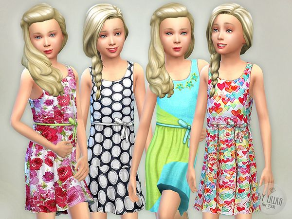 The Sims Resource: Designer Dresses Collection P15 • Sims 4