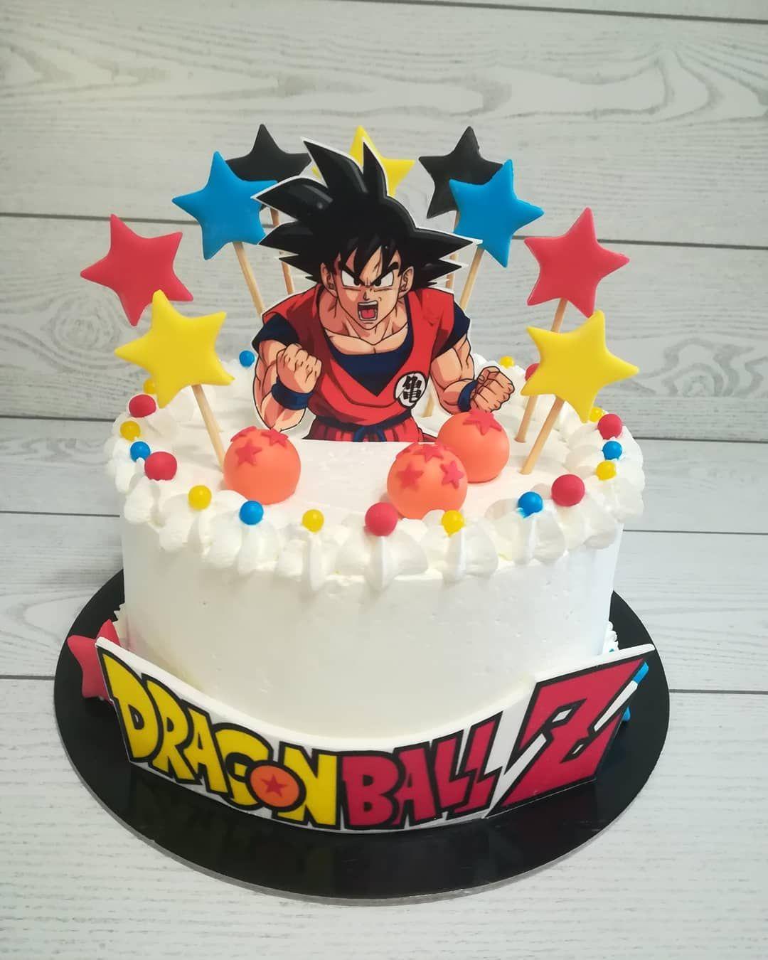 Ondaa Energeticaaaaaaa Tortina In Panna A Tema Dragon Ball Cake