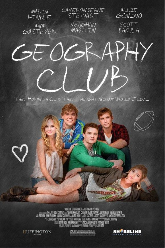 Geography Club   Gay Themed Movie Posters Vintage Cinema