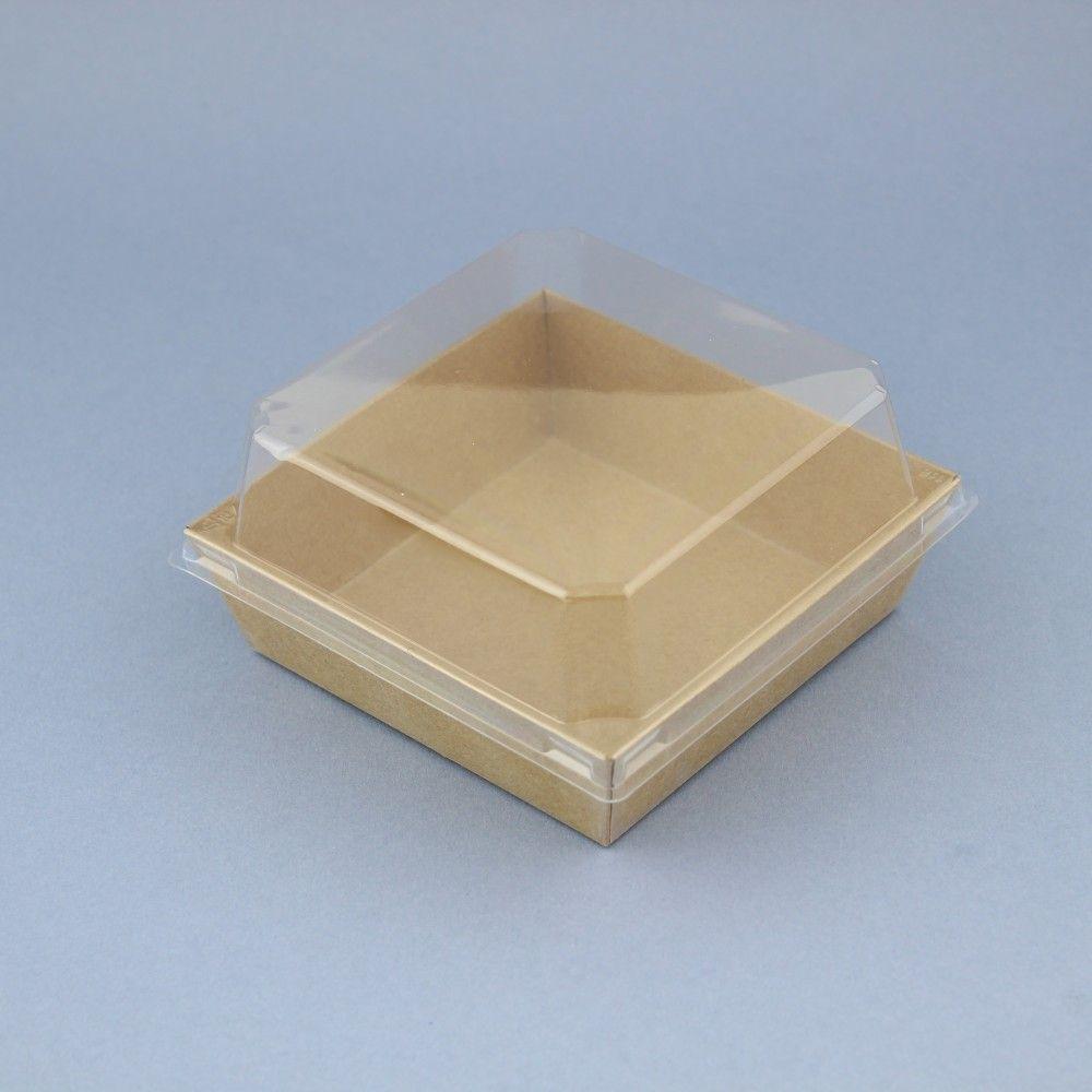 10 علب مربعة كرتون 10 Things Container Takeout Container