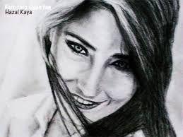 ünlülerin çizimleri Hazal Kaya Ile Ilgili Görsel Sonucu çizim