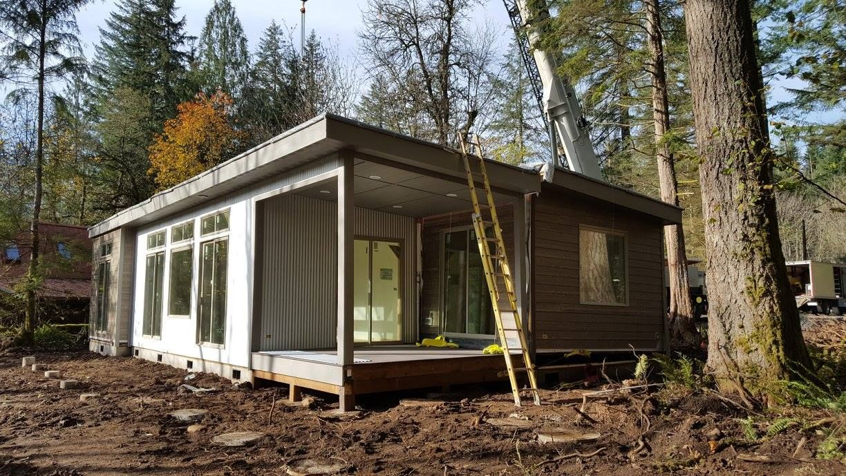 New model by ideabox, FUSE #pnw #prefab #livingthelife #modern #livingsmall  #eco rated #ideabox Salem #oregon