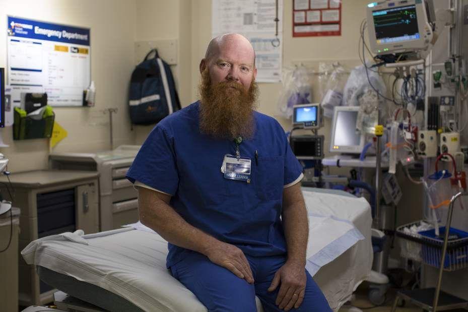 Nursing offers men hope for their careers Male nurse