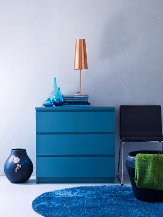 Malm Ikea Cassettiera 3 Cassetti.Mobili E Accessori Per L Arredamento Della Casa Arredamento