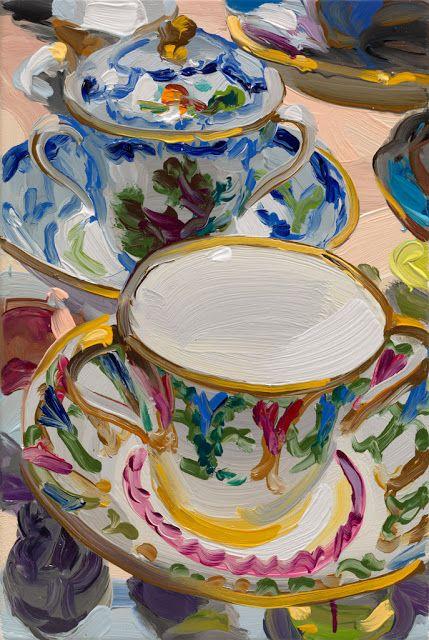 """""""Teacups"""" Jan De Vliegher (Brugge, Belgio 1964)"""