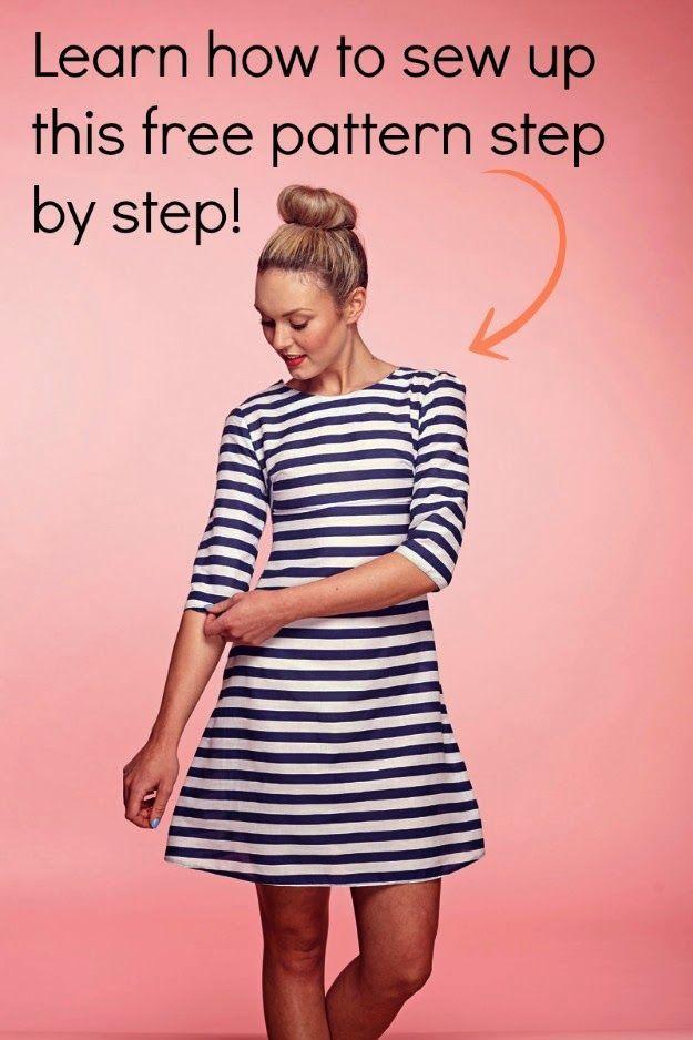 Free Sewing Pattern for Summer Dress | Sew Pretty Sew Free | Bloglovin'