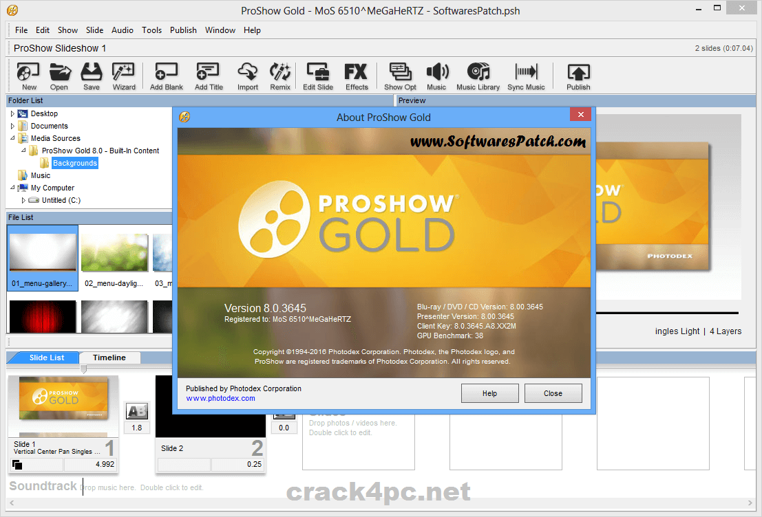 proshow gold full crack gratis