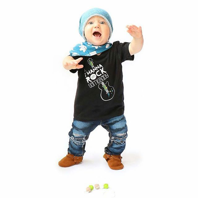 Ahhhh! How cute does @liamadventures look in this #ootd featuring #ohiwannarockwithsomebody tee!  Tap pic for details!  Click link in bio for more info on this tee!  #cutiepatudies #cutekidsclub #ootd #outfitoftheday #babies #kidsstylezz #igkiddies #trendykiddies #kidzfashion #cutekidsfashion #ig_beautiful_kids #trendykids  Www.cutiepatudie.com