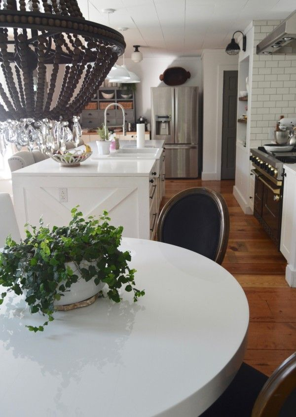 how to choose a dining room table Kitchen Pinterest White