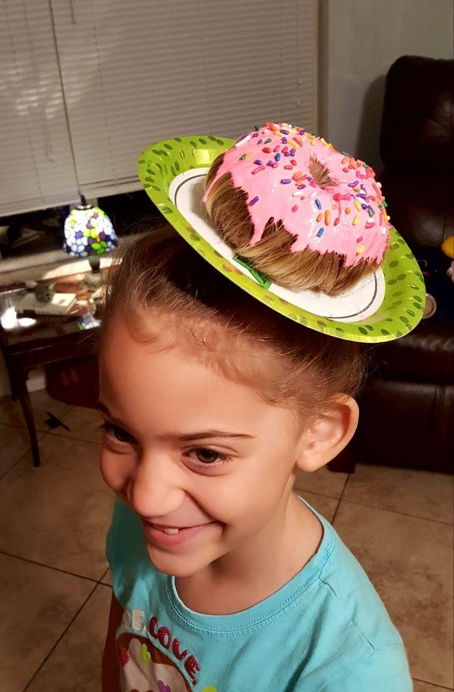 Rápido y fácil peinados divertidos para niña carnaval Imagen de cortes de pelo estilo - 15 Peinados infantiles en los que la creatividad de los ...