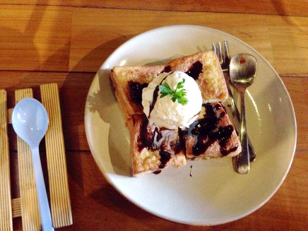 French toast nutella Love it at 8oz malang indonesia