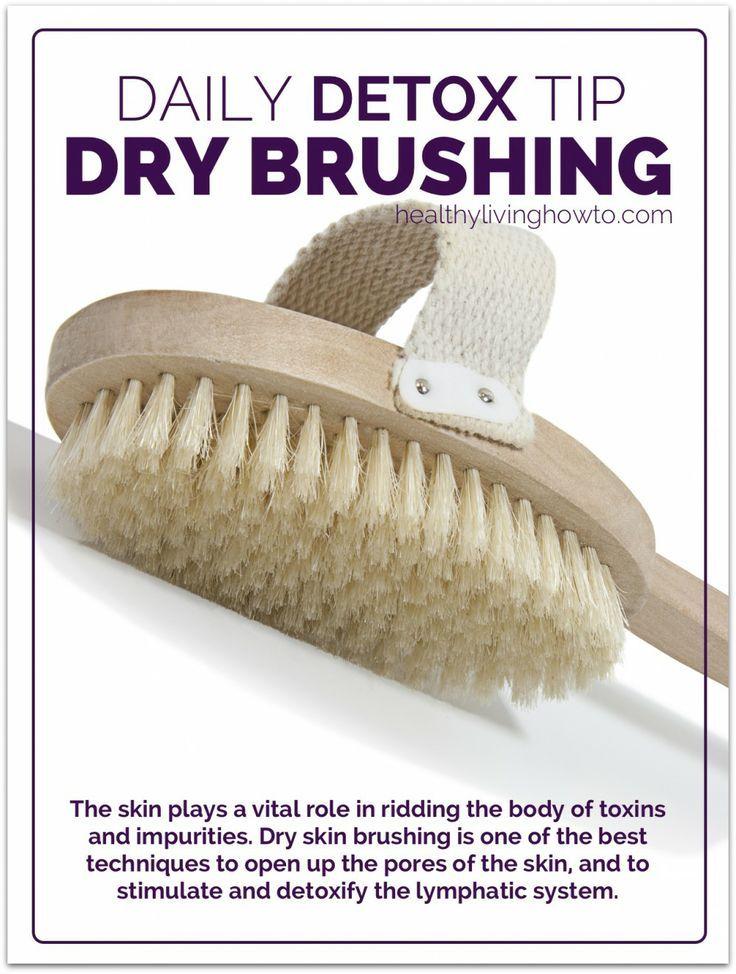 Daily Detox Tip: Dry Skin Brushing |