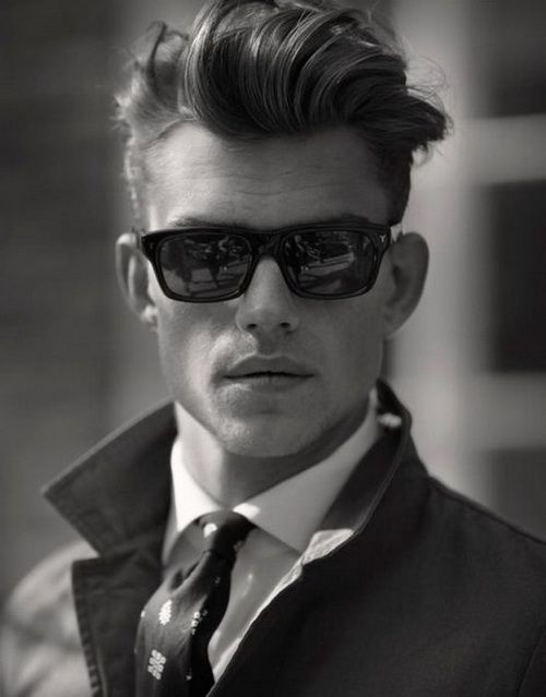 Felipe // Modern Version of James Dean's Messy Pompadour Mens Urban Hairstyles 2014