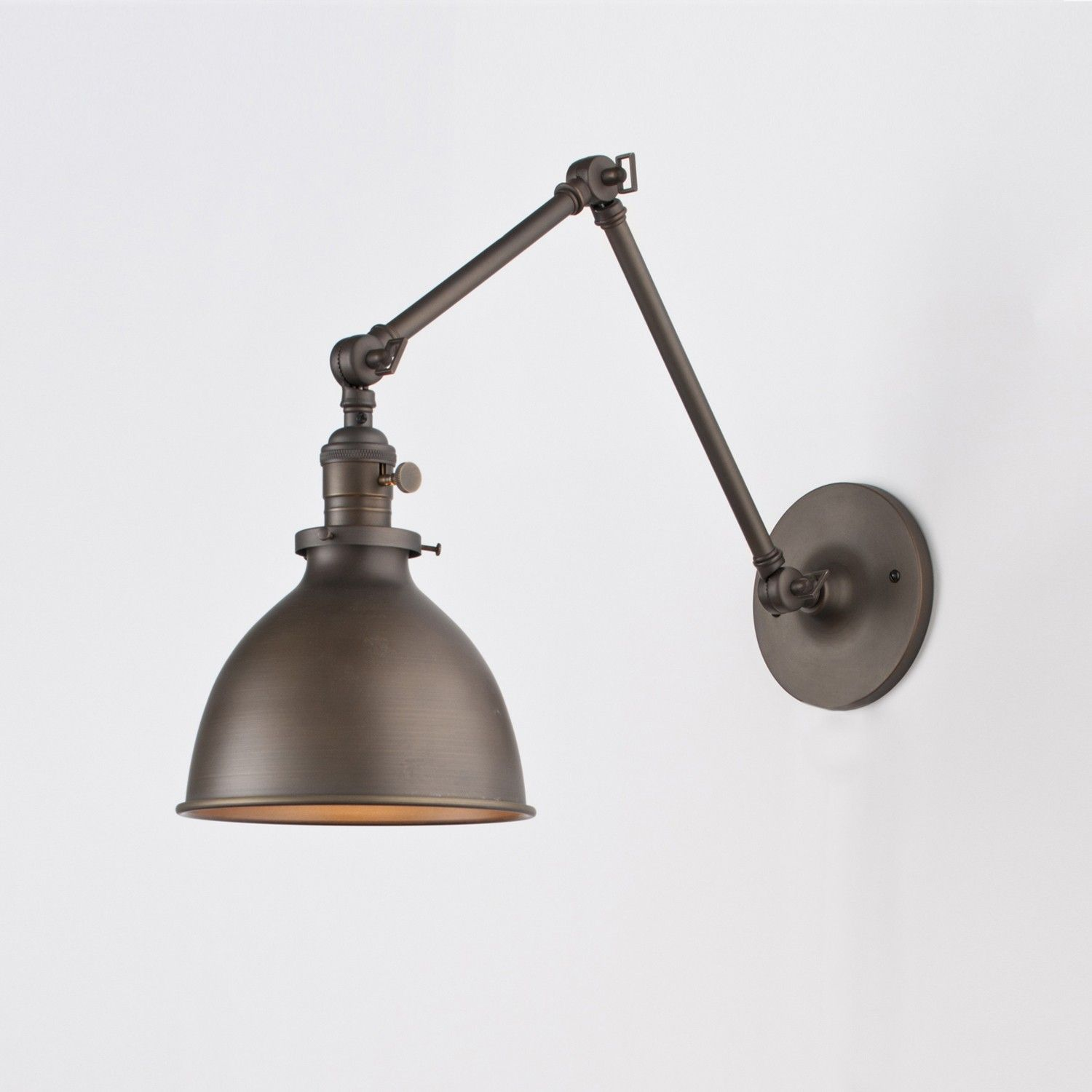 Wall Sconce No Shade : Factory Metal Light Shade Factory Shade No. 3 Schoolhouse Electric & Supply Co. Homey not ...