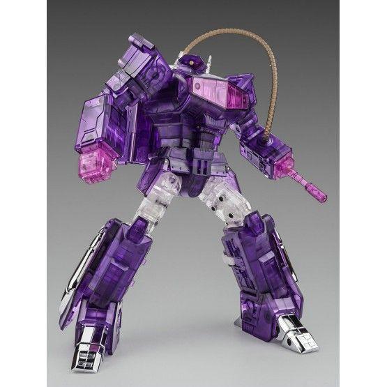 Cloud 9 Toy Transformers W-01 QuakeBlast Shockwave Figure In Stock Clear ver.