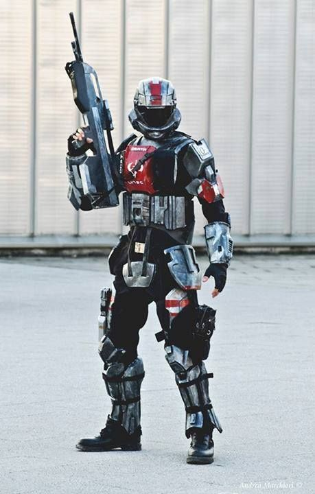 odst halo 3 odst costume by fredprops - Halo Reach Halloween Costume