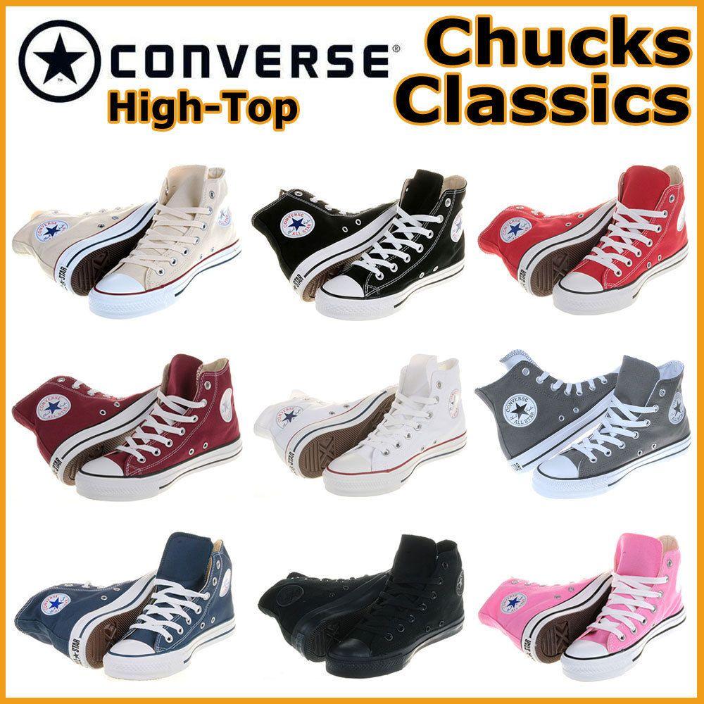 Converse Chucks All Star Hi Klassiker Gr: 35 48