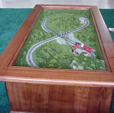 Coffee Table Z Scale Train Sets 5