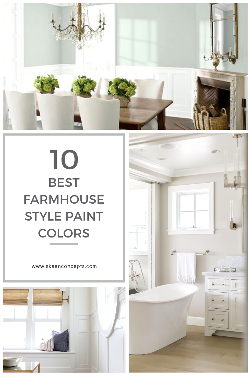 10 best benjamin moore farmhouse style paint colors for on interior designer recommended paint colors id=30390