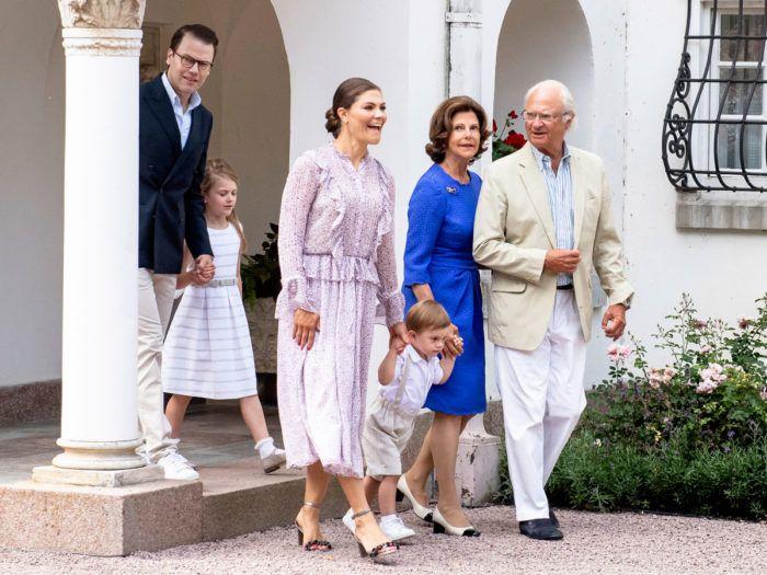 14 juli födelsedag Kronprinsessan Victoria firade sin 41 födelsedag på Solliden i  14 juli födelsedag