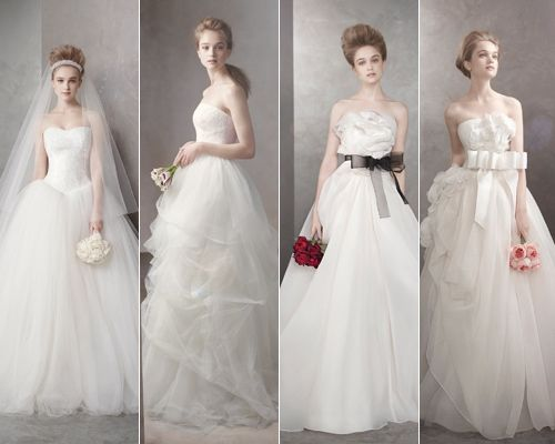 Diseños de Vera Wang. Más vestidos de novia en http://blog.rtve.es ...